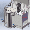 R420 Filtering system with oil skimmer